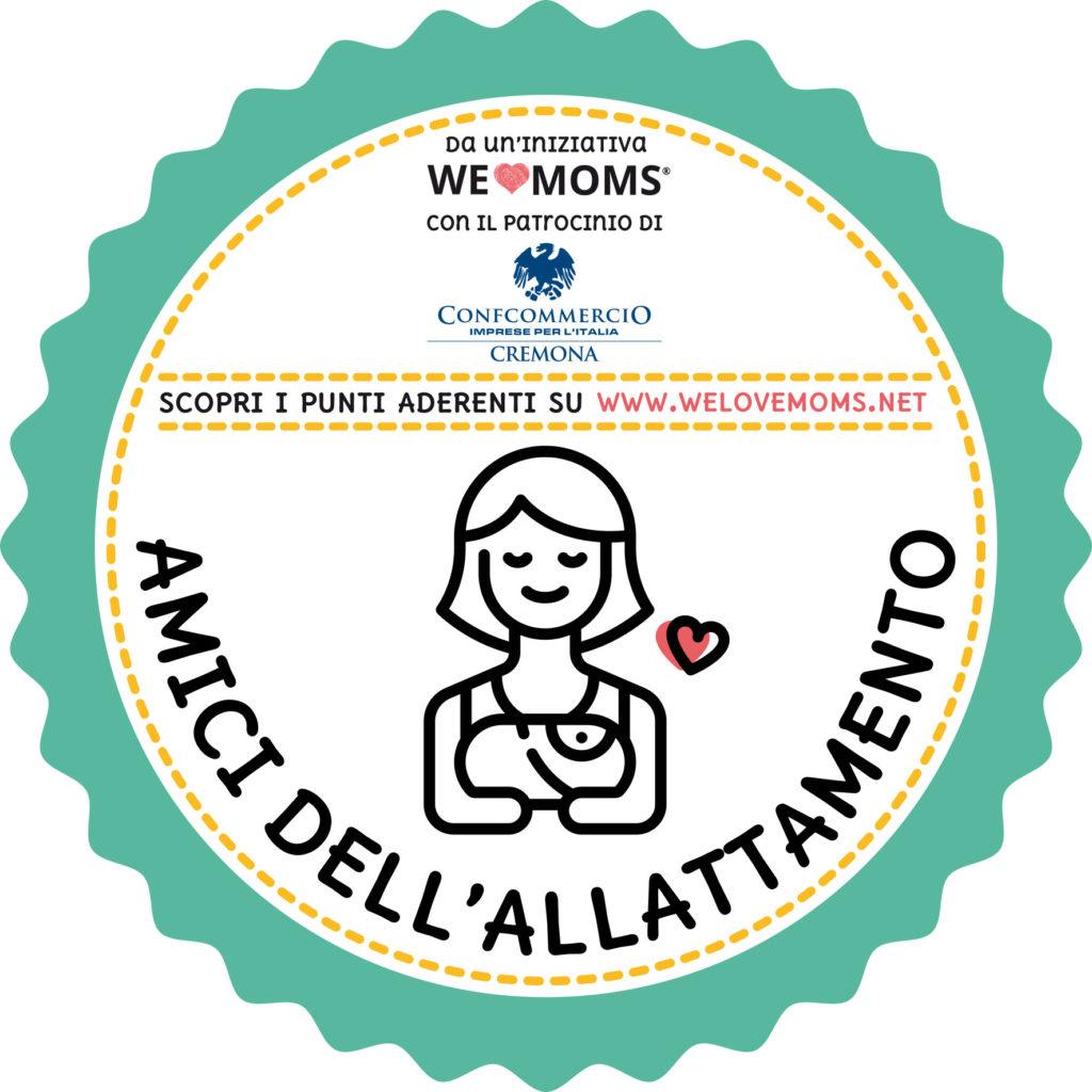 Adesivo Campagna Amici Allattamento Cremona